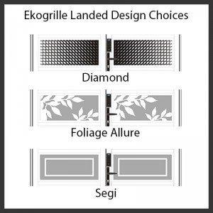Ekogrill Landed Design Choices