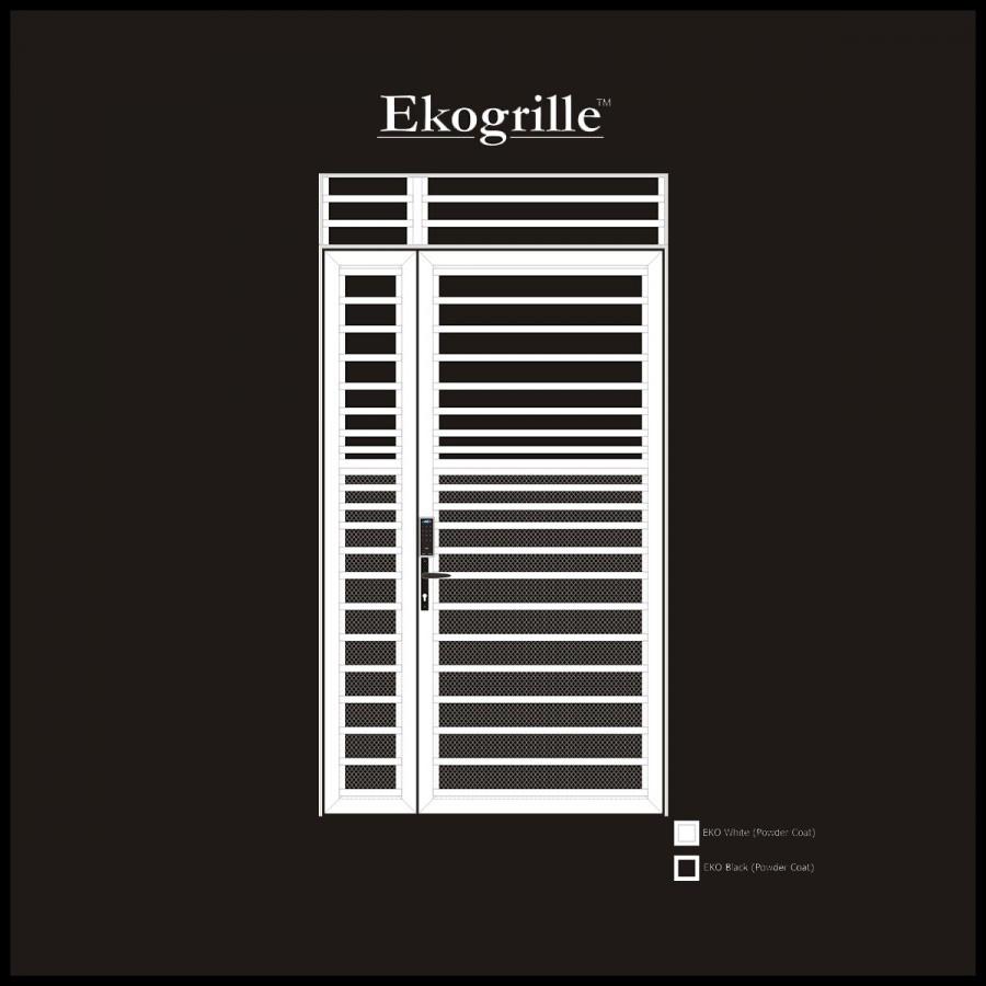 Window grille kota kinabalu - Ekogrille 8 Door Window Grilles