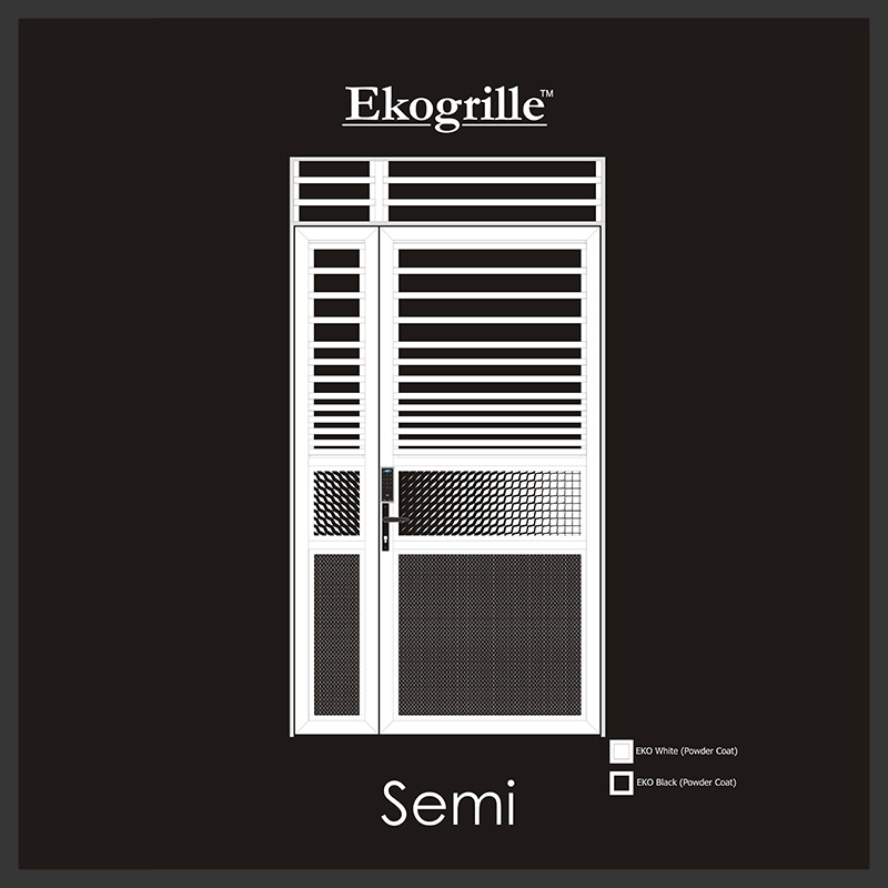 Ekogrille High Rise Semi