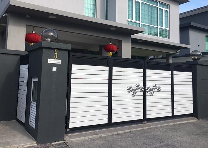 Autogate Malaysia Csa Aluminium Folding Autogate And Fence